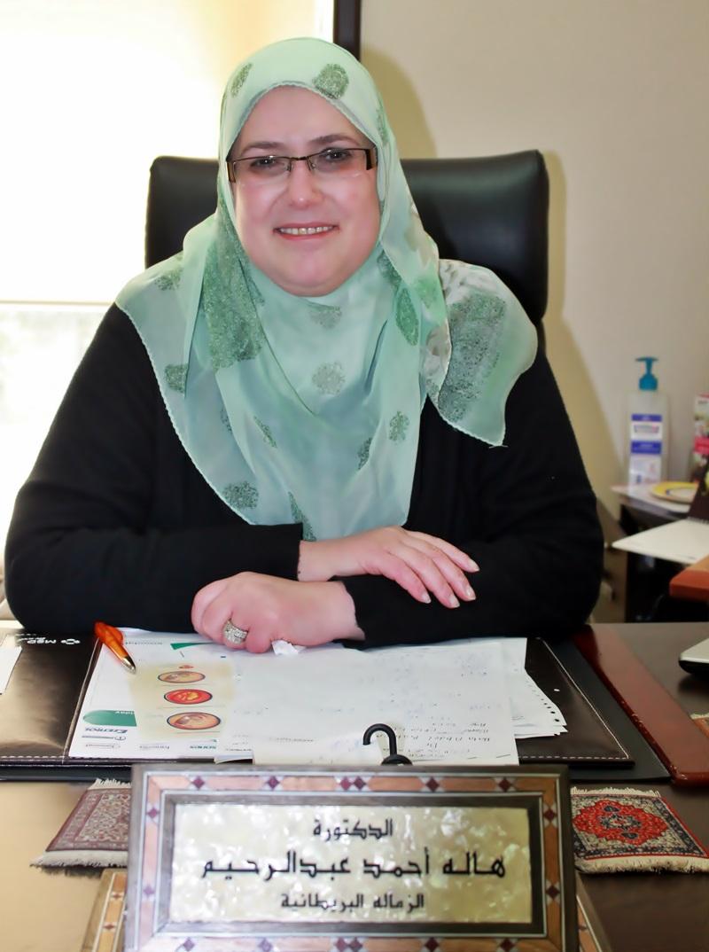 دكتور  هالة عبد الرحيم دكتور انف، أذن، وحنجرة